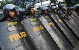 Công bố kết quả bầu cử Indonesia: Hơn 20.000 cảnh sát được huy động