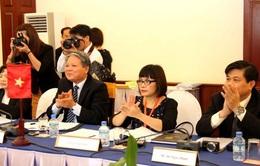 Bộ Tư pháp Việt Nam - Lào tăng cường hợp tác