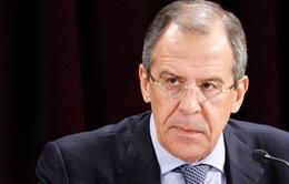 Ngoại trưởng Nga bác cáo buộc bắn rocket sang miền Đông Ukraine