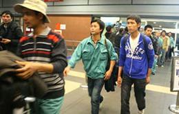 79 lao động tại Libya đã về tới Việt Nam