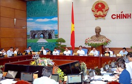 Chính phủ họp phiên thường kỳ tháng 7/2014