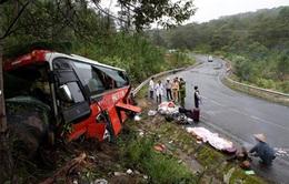 Ô tô đâm vào vách núi, 3 người tử vong