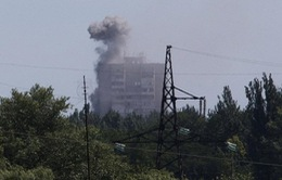 Ukraine: Giao tranh căng thẳng, tạm ngừng điều tra vụ rơi máy bay MH17
