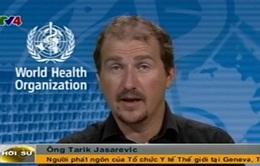 Bệnh Ebola không thể truyền nhiễm qua không khí hoặc nước