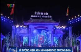 Quảng Ngãi tưởng niệm Anh hùng dân tộc Trương Định