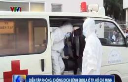 Diễn tập phòng chống dịch Ebola tại TP.HCM