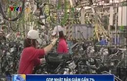 GDP Nhật Bản giảm gần 7%
