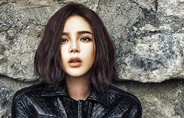 Park Si Yeon u buồn trên Cosmopolitan