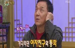 Thành Long không lấy được vợ Hàn Quốc vì... cước điện thoại