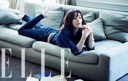 """""""Mỹ nhân cò hương"""" xứ Hàn khoe dáng trên Elle"""