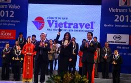 Vietravel nhận giải 'Thương hiệu Quốc gia 2012'