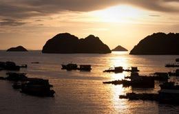 Ngẩn người ngắm hoàng hôn đất Việt dưới góc máy quốc tế