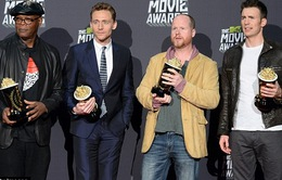 The Avengers thắng lớn tại MTV Movie Awards 2013