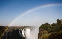 Thác cầu vồng đẹp hút hồn ở Zimbabwe