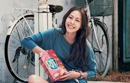 """""""Soi"""" nhan sắc bạn gái mỹ nam Jo In Sung"""