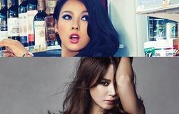 Lee Hyo Ri đo độ sexy với đàn chị