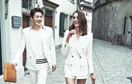 """Kwon Sang Woo hẹn hò """"gái lạ"""" ở trời Tây"""