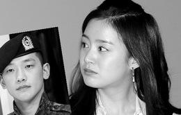 """Bạn trai Bi (Rain) xuất ngũ, Kim Tae Hee """"phớt lờ"""""""