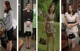 """Ngắm thời trang của Park Eun Hye trong """"Son môi hồng"""""""