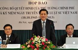 8h, 16/10, VTV1: THTT Kỷ niệm Ngày truyền thống Luật sư Việt Nam