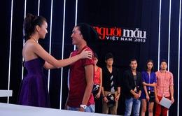 """Mỹ nam của VNTM 2013  bị loại dù gương mặt đẹp """"hoàn hảo"""""""