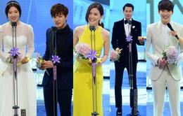 Lễ trao giải SBS Drama Awards - Khép lại một năm thắng lợi rực rỡ