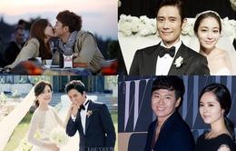 """Những cặp đôi """"trai tài gái sắc"""" của làng giải trí xứ Hàn"""