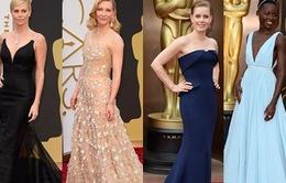 Mặc đẹp nhất trên thảm đỏ Oscar 2014: Cuộc chiến khốc liệt