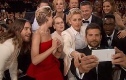 Sao Oscar cùng ăn pizza và chụp ảnh selfie