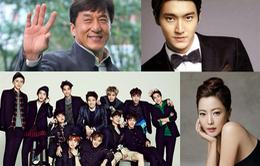 Thành Long mời loạt sao Hàn dự sinh nhật lần thứ 60