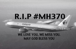 Cộng đồng mạng gửi lời nhắn yên nghỉ đến MH370