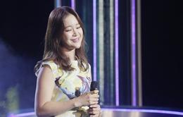 Baek Ji Young thể hiện ca khúc hit trên sân khấu Ngôi sao Việt