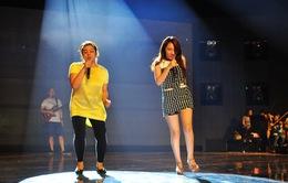 Minh Thùy - Nhật Thủy trước giờ G Vietnam Idol 2013