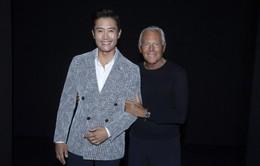 Lee Byung Hun vinh dự được gặp huyền thoại Giorgio Armani