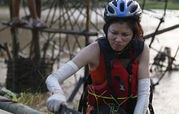 Cuộc đua kỳ thú 2014 - Tập 5: Trang Trần bị thương, đòi bỏ cuộc chơi