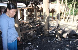 Thông tin thêm về vụ cháy nhà cổ 100 tuổi ở Hòa Bình