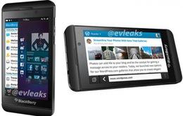 Hé lộ hình ảnh chính thức của BlackBerry Z10