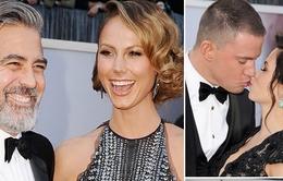 Những cặp đôi hot nhất trên thảm đỏ Oscar 2013