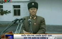 Triều Tiên phê chuẩn quyết định đáp trả quân sự chống Mỹ