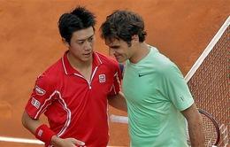 "Federer ""suy nghĩ về tương lai"" sau thất bại ở Madrid"