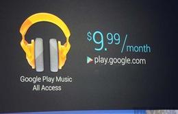 """Google """"qua mặt"""" iTunes với dịch vụ nhạc trực tuyến mới?"""