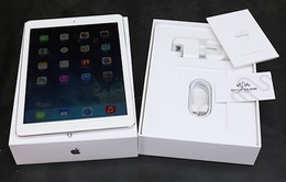 Cận cảnh iPad Air vừa xuất hiện tại Việt Nam
