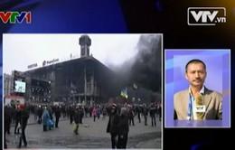 """PV thường trú Đài THVN kể chuyện tác nghiệp ở """"chiến trường"""" Kiev"""