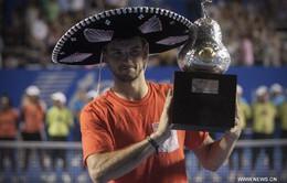 Vượt qua đàn anh, Grigor Dimitrov vô địch Mexican Open