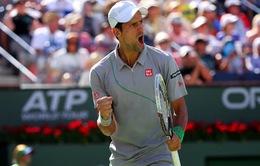 """Indian Wells 2014: Thắng Federer, Nole giải tỏa """"cơn khát"""" danh hiệu từ đầu mùa"""