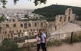 Bỏ Barcelona Open, Novak Djokovic khoe ảnh hạnh phúc bên người yêu ở Hy Lạp
