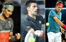 Rome Masters 2014: Novak Djokovic và Federer trở lại