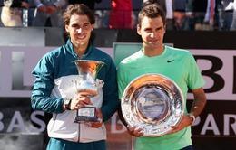 Roger Federer quyết tâm xóa vận đen ở Rome Master 2014