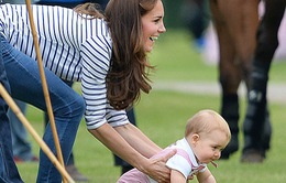 Hoàng tử bé nước Anh đáng yêu trong Ngày của Cha