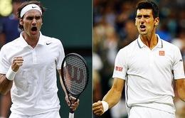 Federer vs Novak Djokovic - Cuộc chiến của những con số huyền thoại